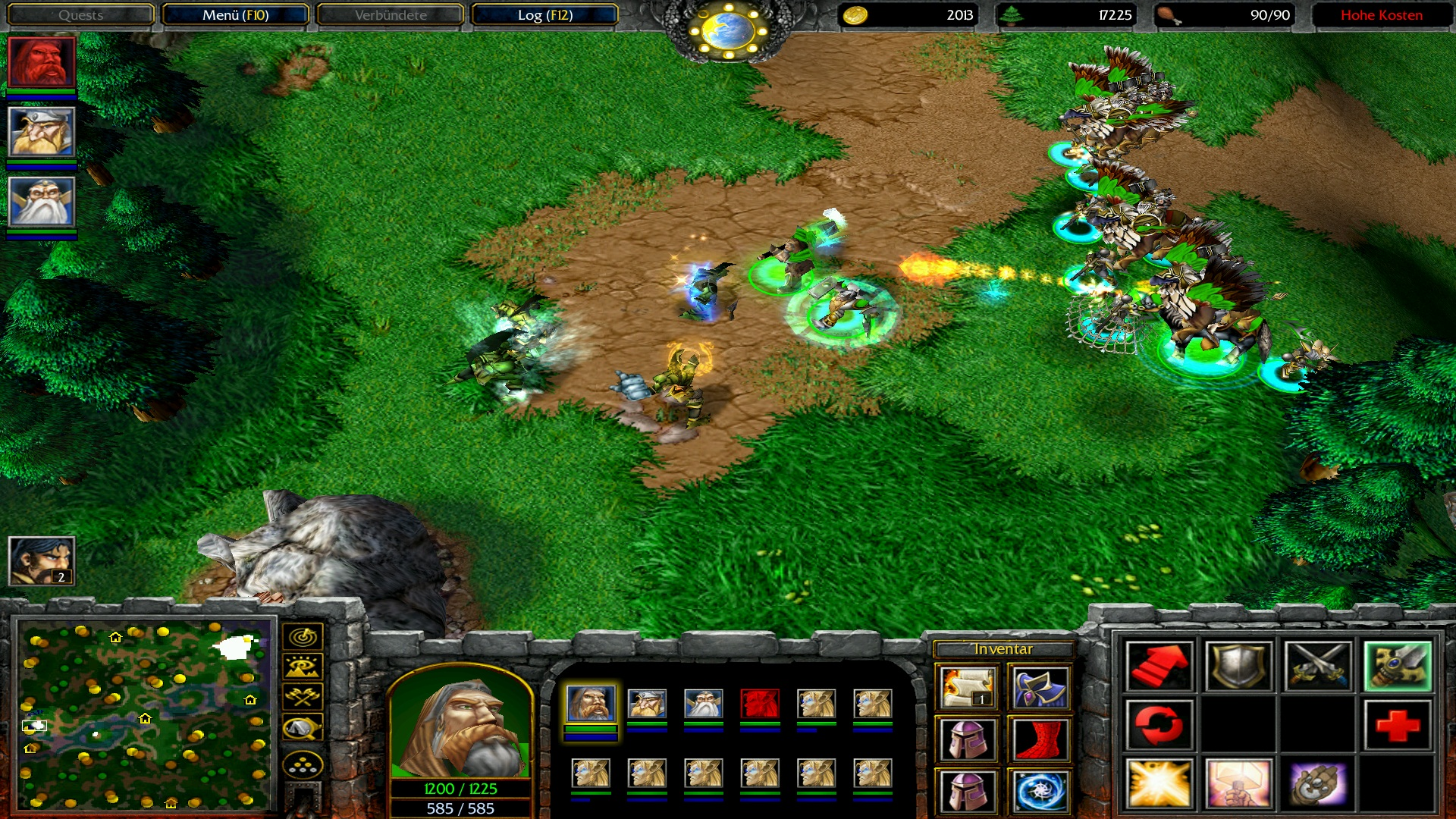 how to play warcraft 3 with friends