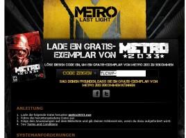 Metro 2033 - Free Giveaway