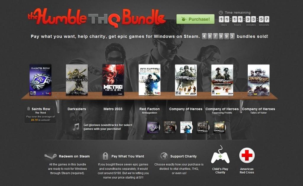 Humble Bundle – THQ (2012)