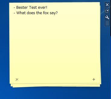 Notes Gadget (Windows 7)