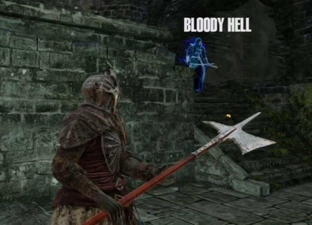 Dark Souls 2: Verstecken auf offenem Feld