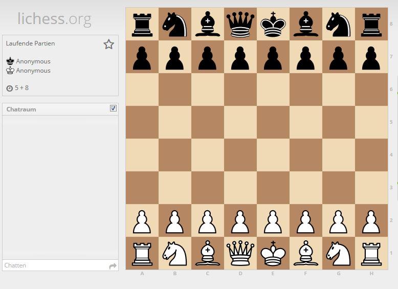 Online Schach